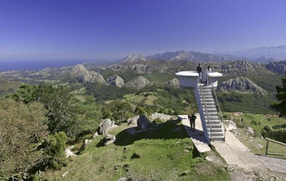 Mirador del Fitu- Arrionadas- Asturias