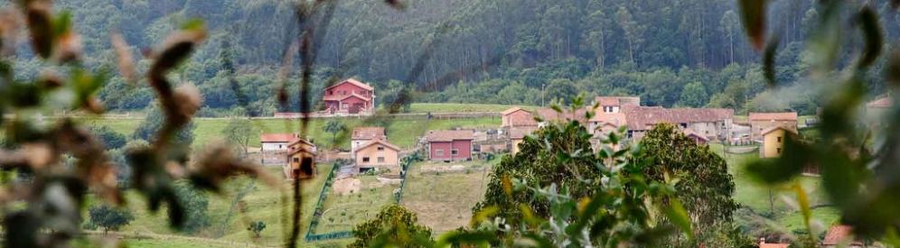 vistas durante la ruta del los colores del valle oscuru